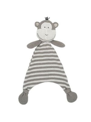 Living Textiles Knit Security Blanket Max the Monkey