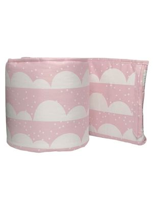 Lolli Living Pink Scallop 2pc Bumper set
