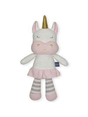 Living Textiles Kenzie the Unicorn Softie Toy