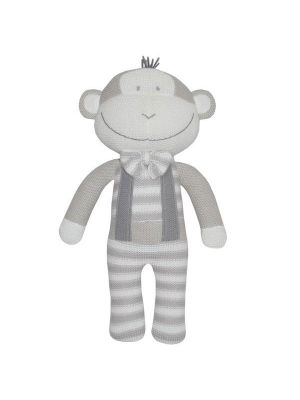 Living Textiles Max the Monkey Softie Toy
