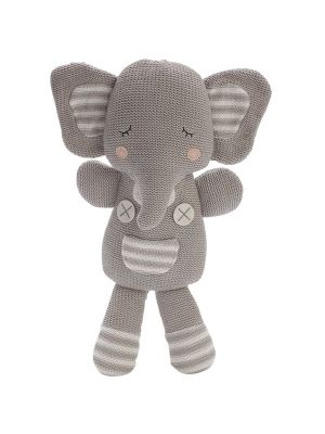 Living Textiles Eli the Elephant Softie Toy