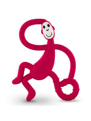 Rubin Red Matchstick Monkey Teething Toy and Gel Applicator