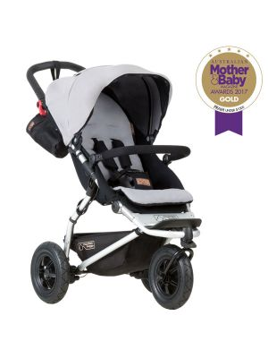 Mountain Buggy Swift Buggy V3.2 Silver