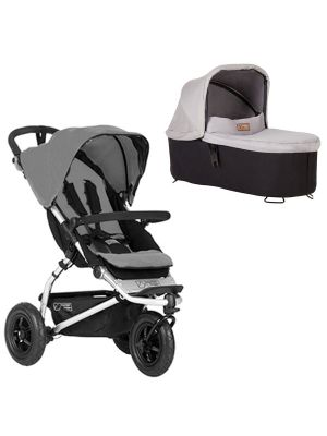 Mountain Buggy Swift Buggy V3.2 Silver + Carrycot
