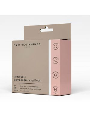 New Beginnings Washable Breast Pads 6s