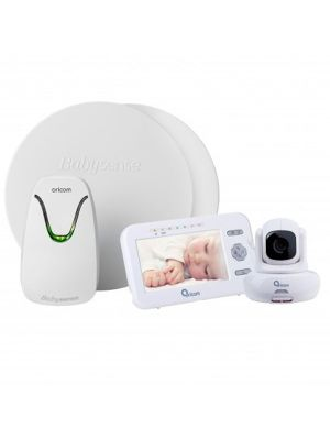 Oricom BabySense 7 Infant Breathing Movement Monitor Value Bundle with SC850 Video Monitor