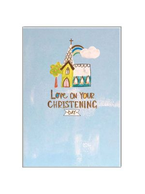 Waterlyn Paper Salad Love You On Your Christening Day Greeting Card