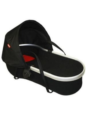 Phil & Teds Peanut Bassinet for Classic/Sport/Dash Black/Red - Online Only!