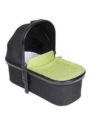 Phil&Teds Snug Carrycot V6 Black with Apple Carrycot Lid