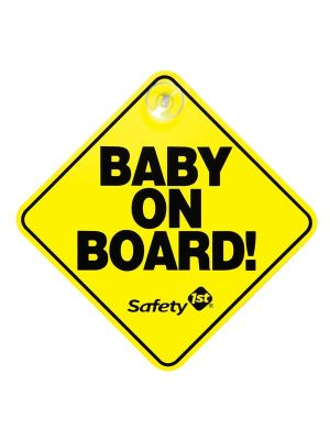 Safety1st Baby On Board Sign Yellow