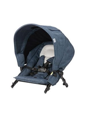 Steelcraft Strider Compact Deluxe Edition Second Seat Moonstone