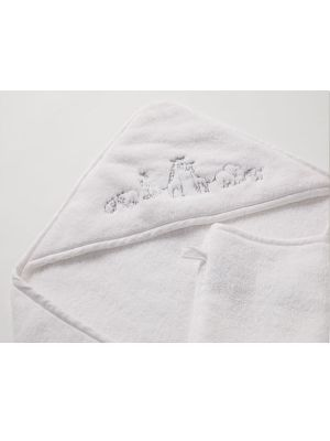 Sheridan Tobi Hooded Towel White
