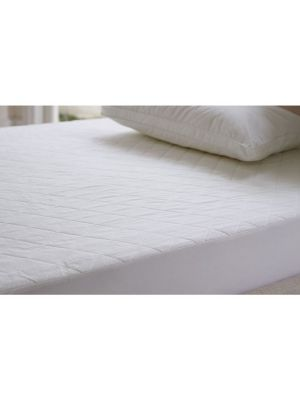 Sheridan Ultracool Large Cot Waterproof Mattress Protector Snow