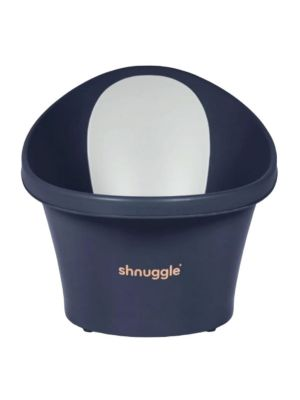 Shnuggle Bath with Plug Navy