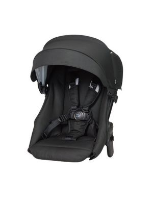 Steelcraft One 2 Travel System Stroller Second Seat Carbon Black
