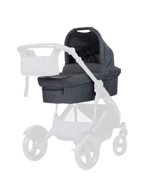 Steelcraft Strider Compact Deluxe Edition Bassinet Granite