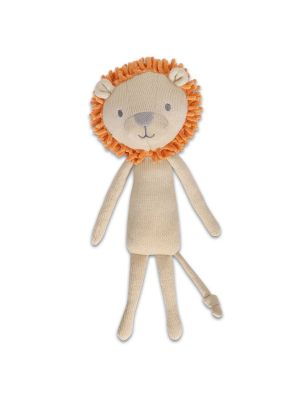 The Peanut Shell Safari Adventure Plush Lion