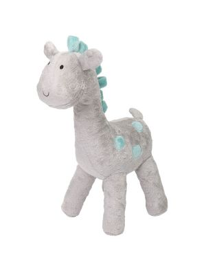 The Peanut Shell Uptown Giraffe Plush Giraffe Grey