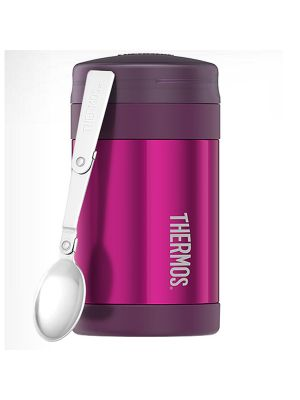 Thermos® Stainless Steel Vacuum Insulated Food Jar 470ml Pink