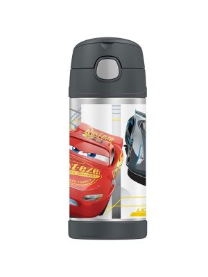 Thermos® FUNtainer® Vacuum Insulated Drink Bottle 355ml Disney Cars 3