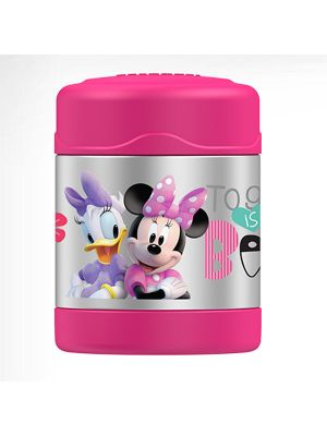Thermos® FUNtainer® 290ml Stainless Steel Food Jar Disney Minnie Mouse