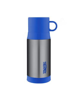 Thermos® FUNtainer® Stainless Steel Vacuum Insulated Warm Drink Bottle 355ml Smoke