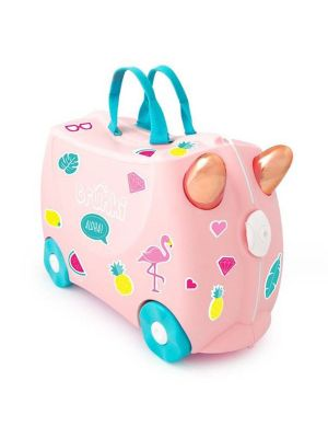 Trunki Ride On Suitcase Flossi Flamingo Limited Edition