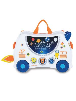 Trunki Skye Spaceship Ride On Suitcase