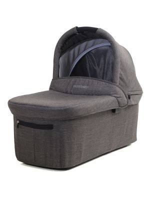 Valco Baby Snap Ultra Trend/Snap 3 & 4 Trend Bassinet Charcoal + Bassinet Adaptor
