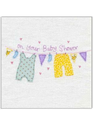 Waterlyn Baby Shower Greeting Card