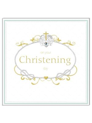 Waterlyn On Your Christening Greeting Card
