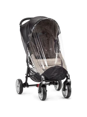 Baby Jogger City 4 Wheel Mini Single Black/Clear Weather Shield Only