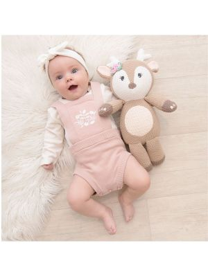 Living Textiles Whimsical Softie Toy Ava The Fawn