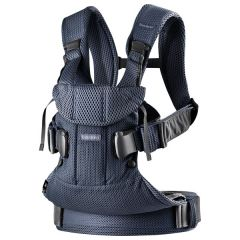 BabyBjorn Baby Carrier One Air Navy Mesh V2