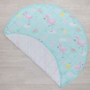 Lolli Living Flamingo Round Play Mat