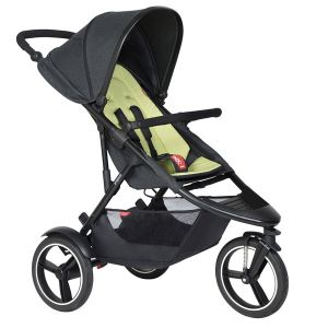 Phil&Teds Dash V6 Black with Apple Cushy Ride Liner - Online Only!