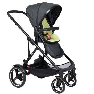 Phil&Teds Voyager V6 Black with Apple Cushy Ride Liner - Online Only!