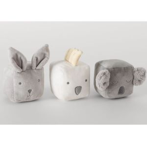 Sheridan Rowleigh Animal Dice Set Grey