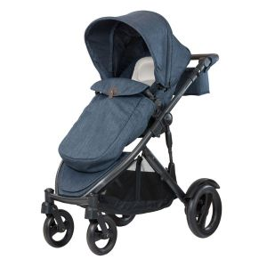 Steelcraft Strider Compact Deluxe Edition Pram Moonstone