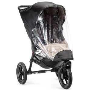 Baby Jogger City Elite Single Black/Clear Weather Shield