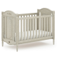 Boori Grace Cot bed V19 Antiqued Grey + Breathable Mattress